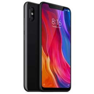"Xiaomi Mi 8 6,21"" Dual-SIM Smartphone 128/6 GB (AMOLED FHD+, Snapdragon 845, Dual-Kamera, NFC, USB-C, 3.400 mAh Akku) schwarz"