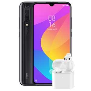Xiaomi Mi 9 Lite 128GB Onyx Grey und Airdots Pro 2 im O2 Blau (5GB LTE, Allnet/SMS) mtl. 16,99€ einm. 5,99€