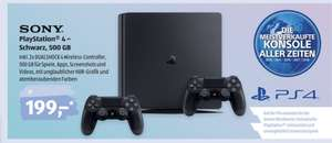PlayStation 4 mit 500 GB & 2 Dual-Shock 4 Wireless bei ALDI SÜD ab 26.03.
