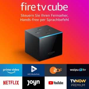 Amazon Fire TV Cube Hands-free mit Alexa, 4KUltraHD-Streaming-Mediaplayer, schwarz, 16 GB Atmos