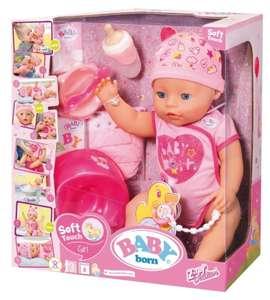 Baby Born Soft Touch Girl, 43cm groß mit Zubehör bei [windeln.de]