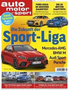 6x Auto Motor Sport für 27,30€ mit Verrechnungsscheck in Höhe von 31,85€