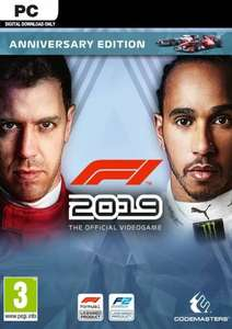 [Steam]+(cdkeys) F1 2019 Anniversary & Legends Edition - ab 10,19 €