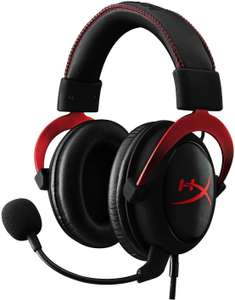 HyperX Cloud II Gaming-Headset mit Virtual 7.1 Surround Sound & Noise Cancelling (für PC, PS4, Mac) rot