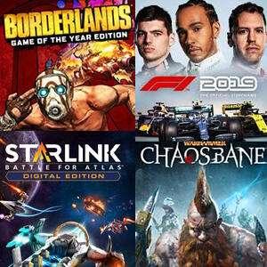 Borderlands: Game of the Year Edition & F1 2019 & Warhammer: Chaosbane (Xbox One) kostenlos spielen (Xbox Store Live Gold)