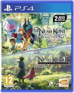 Ni no Kuni: Der Fluch der weißen Königin + Ni No Kuni II: Schicksal eines Königreichs (PS4) für 33,20€ (Amazon ES)