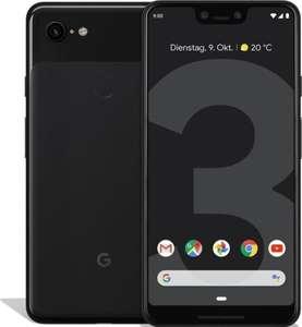"""Google Pixel 3 XL Schwarz (6.3"""" WQHD+ AMOLED, 4/64GB, SD845, USB-C, Qi, NFC, 3430mAh, 275k AnTuTu) [V&V Amazon]"""
