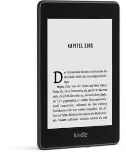 """Amazon Kindle Paperwhite 2018 mit 32GB und Werbung (beleuchteter 6"""" E-Ink Touchscreen, 1072x1448, WLAN, Bluetooth, nach IPX8 wasserdicht)"""