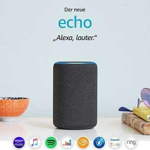 Amazon Echo 3 für 54,61€ oder Amazon Echo Plus für 71,42€ (Echo Studio leider ausverkauft)