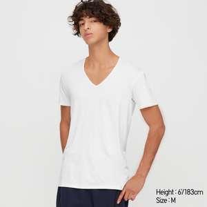 [Uniqlo Stores Berlin] Airism V Neck o. Crew Neck T-shirt (Online 7,90€ exkl. Versand)