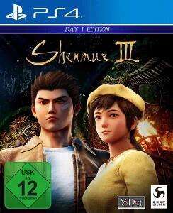 Shenmue III Day One Edition (PS4) für 17,54€ (Müller Abholung & Amazon Prime)