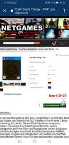 // Dark Souls Trilogy Playstation 4 //