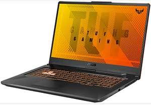 """Asus TUF Gaming A17 FA706 (17.3"""", FHD, IPS, 60Hz, Ryzen 5 4600H, 8GB RAM, 512GB M.2, GTX 1660 Ti 6GB, USB-C mit PD & DP, 48Wh, RGB-Tastatur)"""