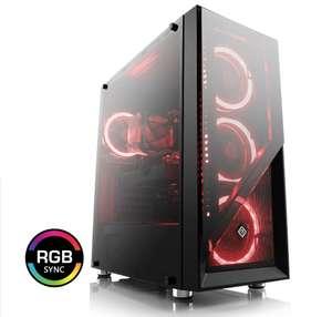 Gaming PC; Ryzen 7 2700X, Nvidia GeForce RTX 2060, 16GB DDR4, 500GB PCIe SSD
