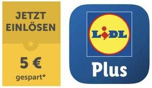Lidl Plus: 5€ Willkommens-Gutschein (ab 30€) und viele weitere Vorteile