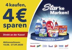 "[Henkel] ""4 kaufen, 4 € sparen"" als Sofortrabatt direkt an der Kasse - alle Händlercoupons inklusive!"