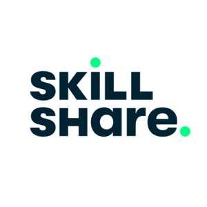 Skillshare Premium Online-Lernkurse 2 Monate kostenlos