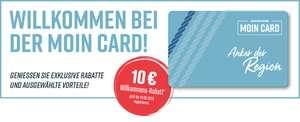 10 Euro Willkommens-Rabatt für Moin Card Neukunden