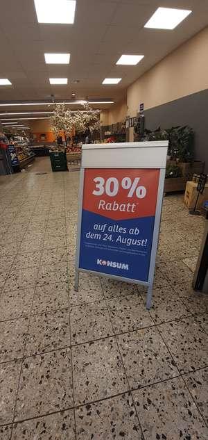 30% Rabatt auf alles im KONSUM Dresden [LOKAL]