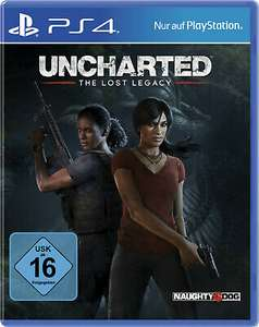 Uncharted - The Lost Legacy & Shenmue III (PS4) für je 13,50€ (Media Markt Abholung)