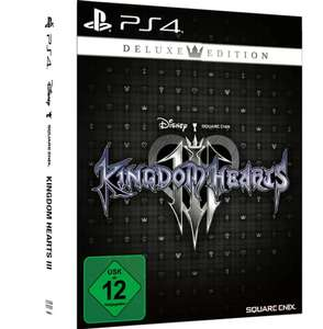 Kingdom Hearts III - Deluxe Edition (PS4) für 24,37€ (Media Markt Abholung)