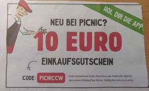 PICNIC Neukunden Gutschein - 10€ auf den ersten Einkauf