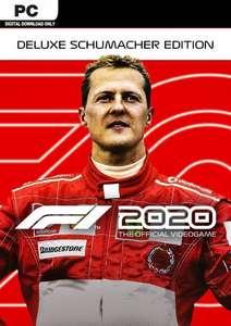 F1 2020 Schumacher Deluxe Edition (Steam) für 24,19€ (CDKeys)