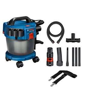 Bosch Professional 18V System Industriestaubsauger Gas 18V-10 L (inkl. Rollen, Tragegurt, Adapter)