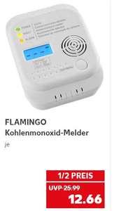 Flamingo Kohlenmonoxid-Melder für 12,66 Euro [Kaufland]