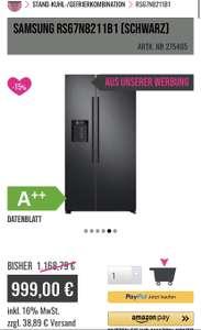 Samsung RS67N8211B1 (Schwarz)