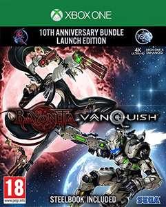 Bayonetta & Vanquish: 10th Anniversary Bundle - Launch Edition inkl. Steelbook (Xbox One) für 19,92€ (Amazon UK)