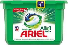 [GzG] Ariel All-in-1 Pods und Ariel Flüssig kostenlos testen (100% Cashback) bis zum 31.01.2021