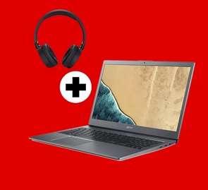 [Media Markt] ACER Chromebook 715 (CB715-1WT-3415) Aluminium-Unibody, 15,6 Zoll IPS, i3-8130U, 8 GB RAM, 128 GB eMMC + JBL Kopfhörer