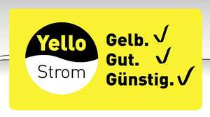 (Yello & Shoop) 55€ Cashback auf deinen Strom- oder Gasvertrag