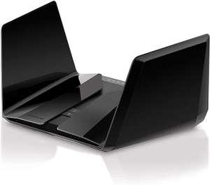 NETGEAR Nighthawk RAX200 WiFi 6 WLAN Router AX11000 (12-Stream Tri-Band AX12 mit bis zu 10,8 GBit/s