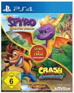 Spyro: Reignited Trilogy + Crash Bandicoot: N-Sane Trilogy (PS4) für 41,98€ inkl. Versand (Expert)
