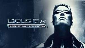 Deus Ex: Game of the Year Edition (Steam Key) für 0,90€ bei Fanatical