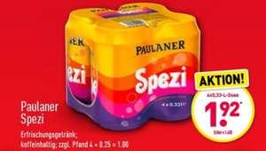 Paulaner Spezi 4x 0,33l bei Aldi Nord