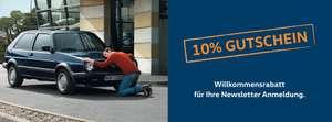 10% Rabatt bei VW Classic Parts