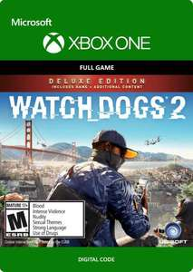 WATCH DOGS 2 - DELUXE EDITION XBOX ONE €14.69 @cdkeys