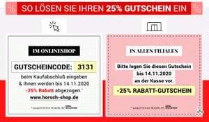 Horsch Schuhe 25% Gutschein