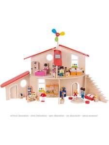[limango] Goki 51737 Puppenhaus Puppenstube Modern Living 120x33x78cm Holzspielzeug [ab 19 Uhr 39,99€]