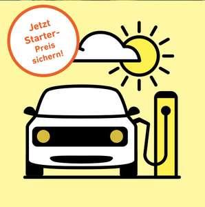 E-Auto unterwegs laden: DC: 0,381€/kWh für 3,81€/Monat Yello Ladetarif