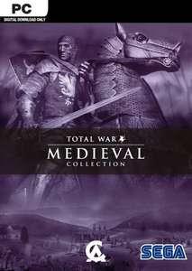Medieval Total War Collection (Steam) für 1,69€ (Cdkeys)