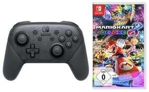 Nintendo Switch Pro Controller + Mario Kart 8 DeLuxe für zusammen 80,41€ inkl. Versandkosten