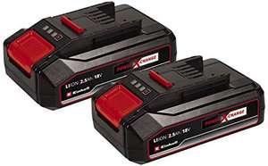 2 Stück Einhell Akku 2,5 Ah Power X-Change Li-Ion18 V 2,5 Ah 25 € / Stück !
