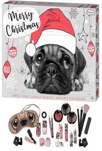 Pug'tastic Beauty-Adventskalender (diverse Schminkzeug + peinliche Maske)