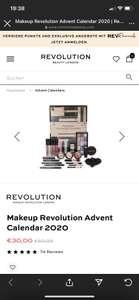 Make up Revolution Adventskalender