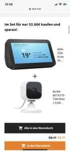 Amazon Echo Show 5 + BLINK B07X37DT9M MINI 1 CAME
