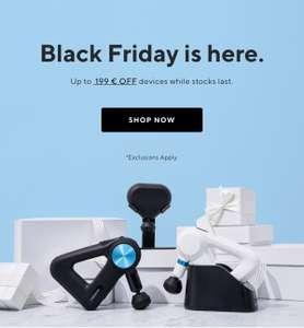 Therabody Black Friday Deals - Alle Theragun Modelle reduziert